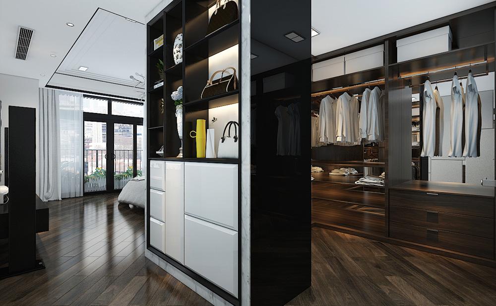 Thiết kế nội thất chung cư cao cấp 100m2 đẹp 13