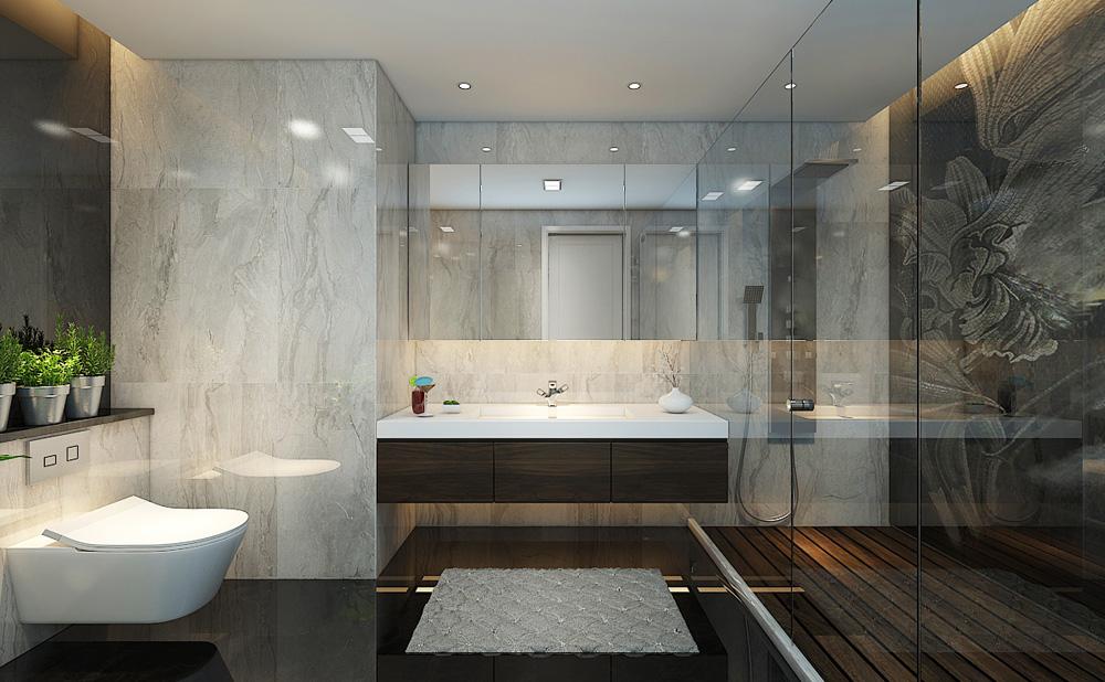 Thiết kế nội thất chung cư cao cấp 100m2 đẹp 15
