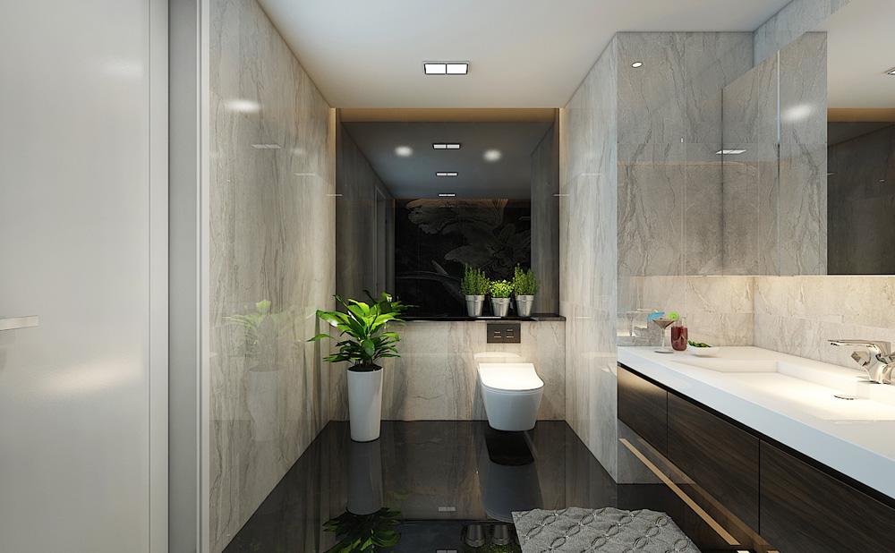 Thiết kế nội thất chung cư cao cấp 100m2 đẹp 16