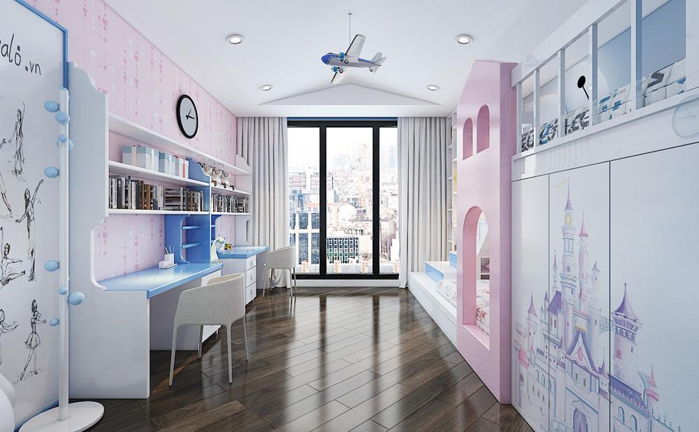 Thiết kế nội thất chung cư cao cấp 100m2 đẹp 18