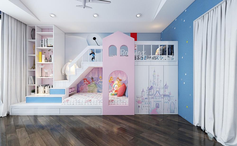 Thiết kế nội thất chung cư cao cấp 100m2 đẹp 19