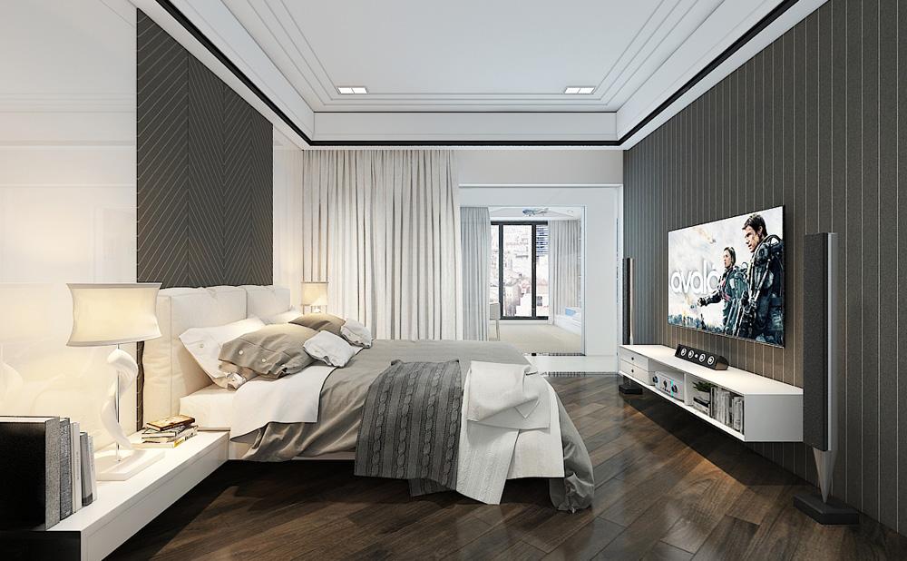 Thiết kế nội thất chung cư cao cấp 100m2 đẹp 21