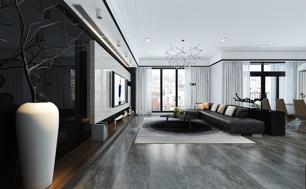 Thiết kế nội thất chung cư cao cấp 100m2 đẹp 4