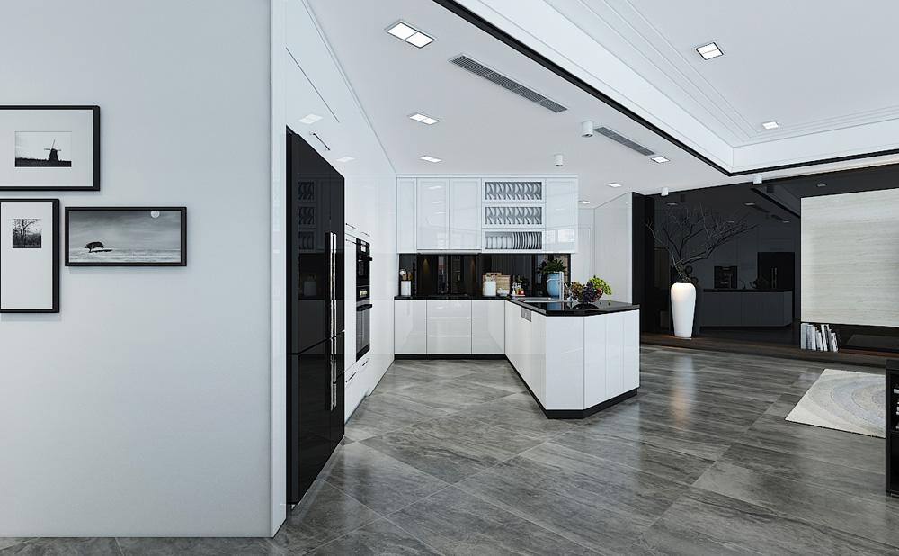 Thiết kế nội thất chung cư cao cấp 100m2 đẹp 7
