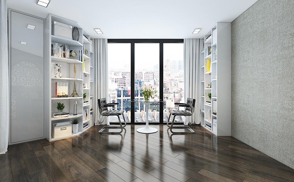 Thiết kế nội thất chung cư cao cấp 100m2 đẹp 8
