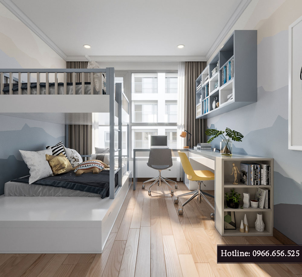 thiết kế nội thất chung cư tecco thanh trì ảnh 10