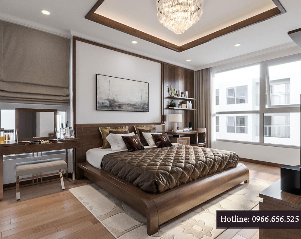thiết kế nội thất chung cư tecco thanh trì ảnh 11