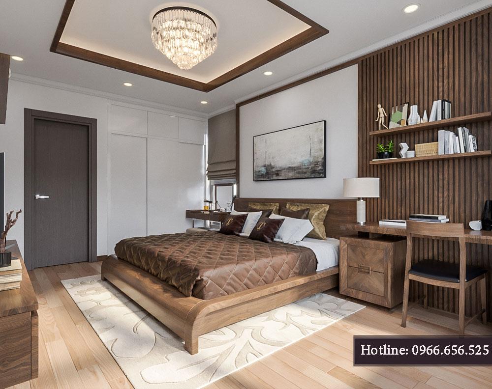 thiết kế nội thất chung cư tecco thanh trì ảnh 12