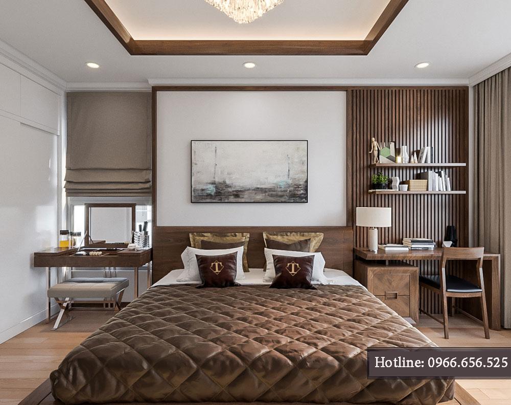 thiết kế nội thất chung cư tecco thanh trì ảnh 13