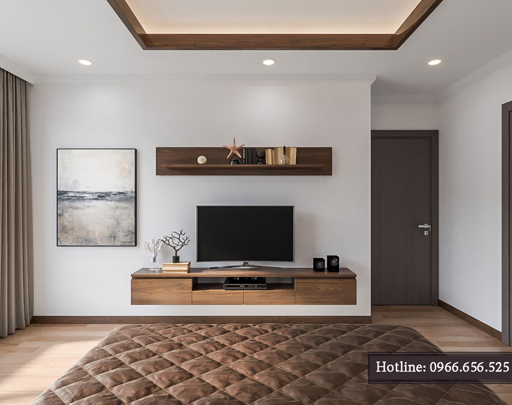 thiết kế nội thất chung cư tecco thanh trì ảnh 14