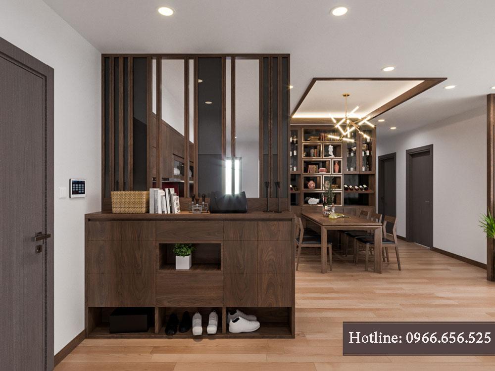 thiết kế nội thất chung cư tecco thanh trì ảnh 18