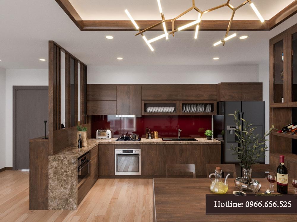 thiết kế nội thất chung cư tecco thanh trì ảnh 2