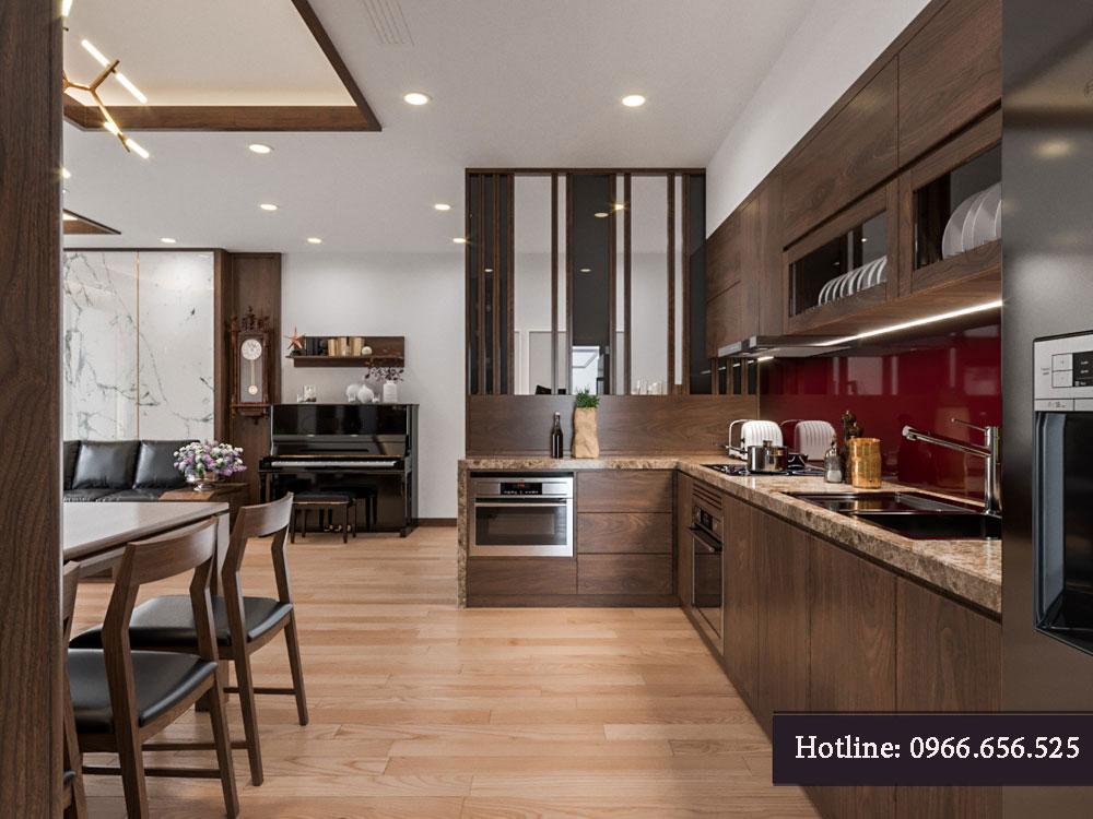 thiết kế nội thất chung cư tecco thanh trì ảnh 3