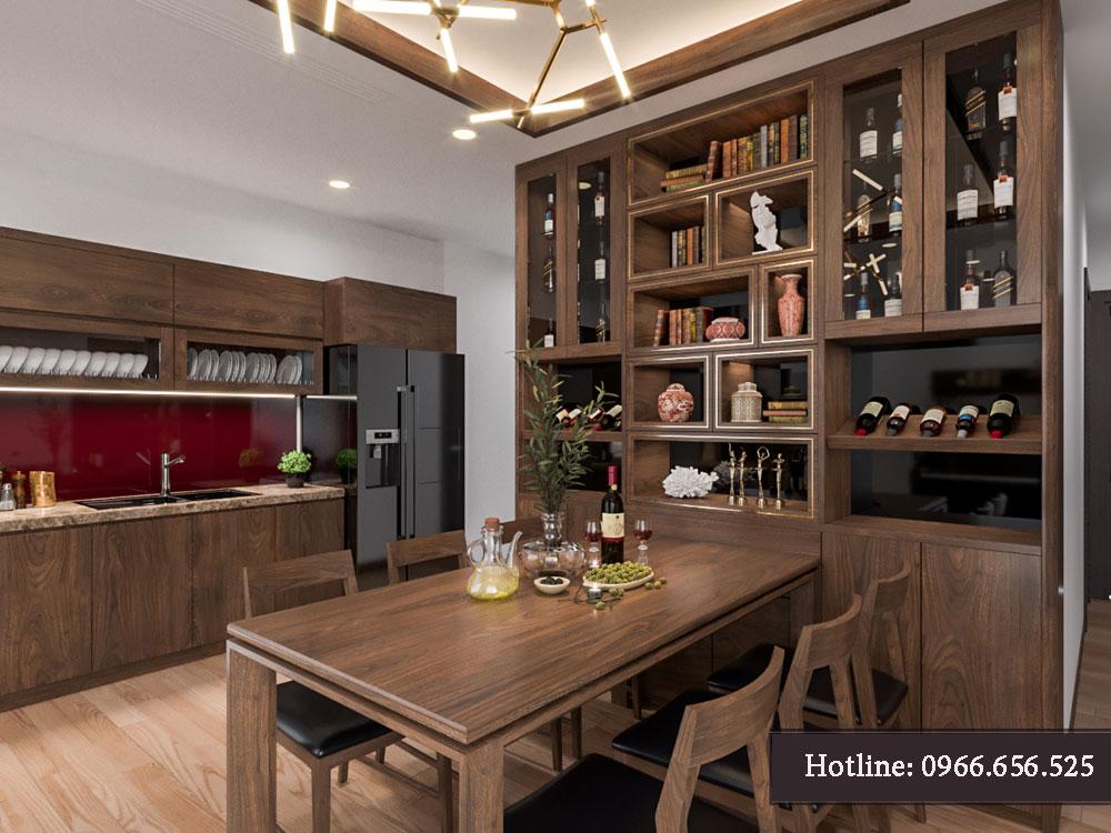 thiết kế nội thất chung cư tecco thanh trì ảnh 4