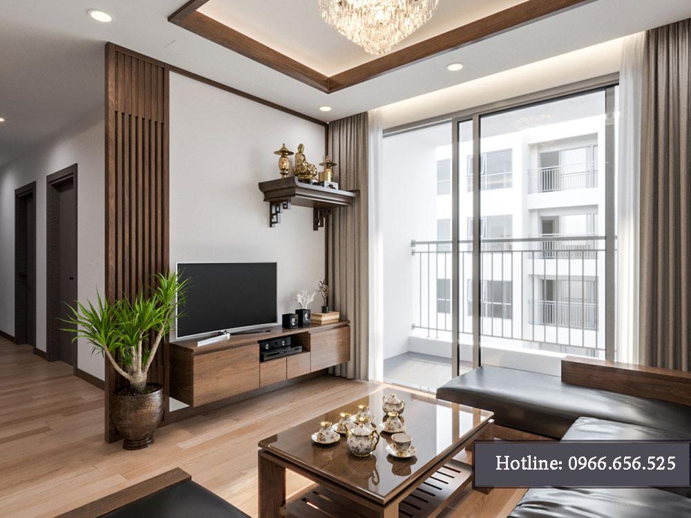 thiết kế nội thất chung cư tecco thanh trì ảnh 6