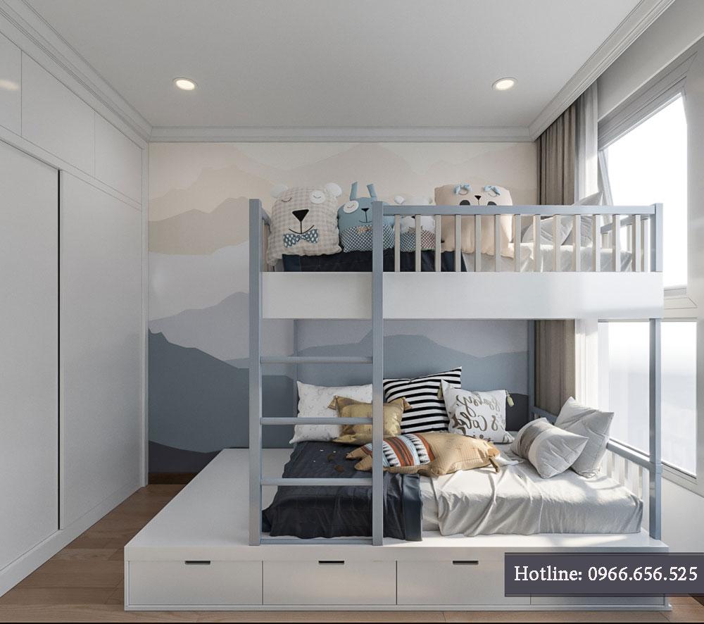 thiết kế nội thất chung cư tecco thanh trì ảnh 8