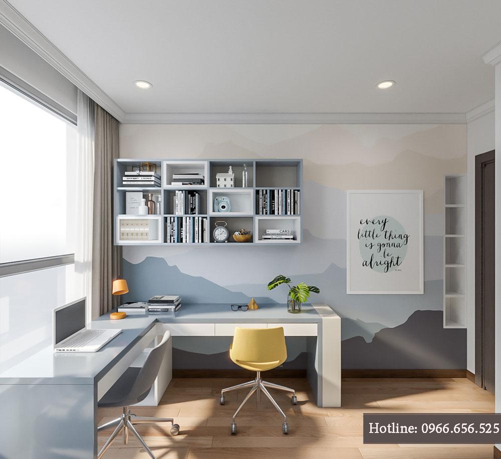 thiết kế nội thất chung cư tecco thanh trì ảnh 9