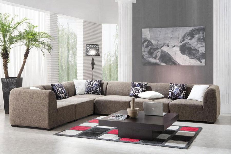 sofa phòng khách kiểu tập trung