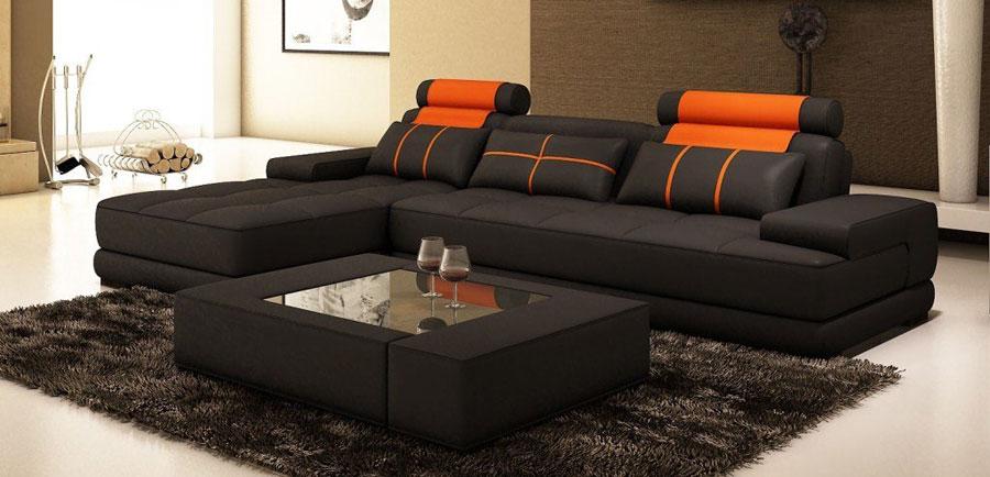 sofa phòng khách kiểu tự do