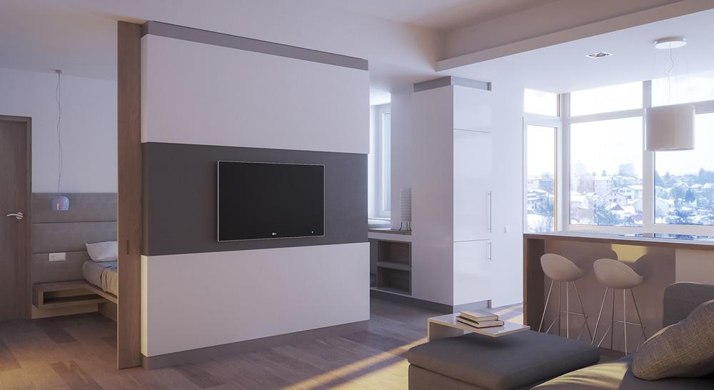 Thiết kế nội thất chung cư mini ảnh 2