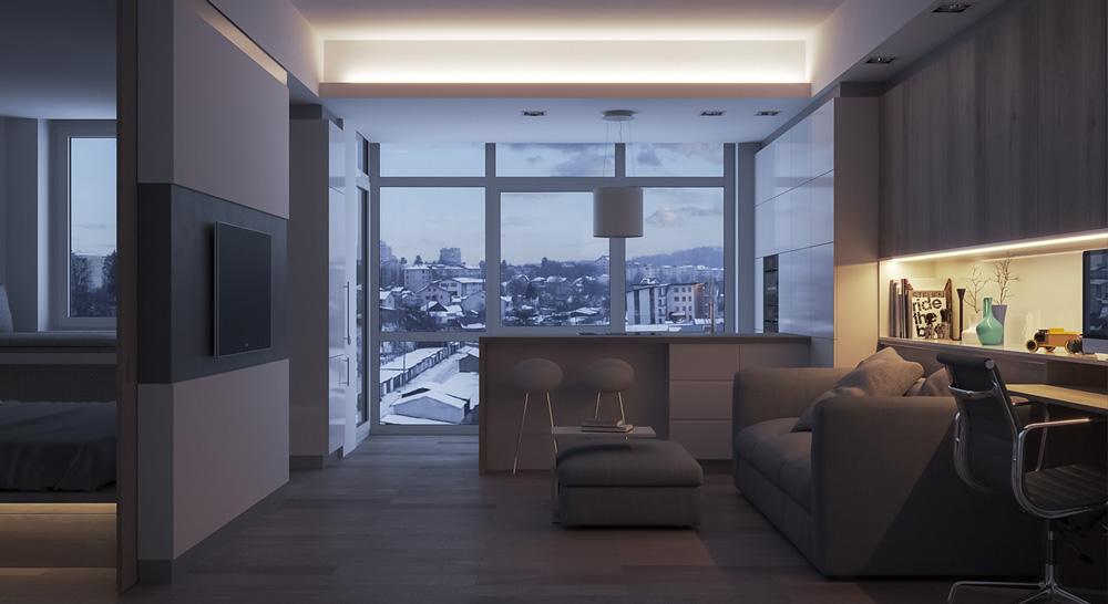 Thiết kế nội thất chung cư mini ảnh 3