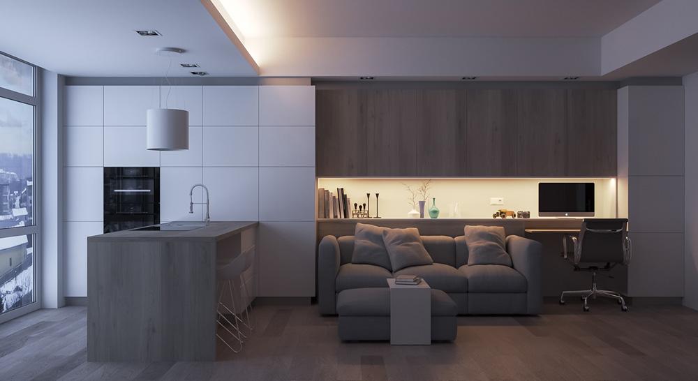 Thiết kế nội thất chung cư mini ảnh 4