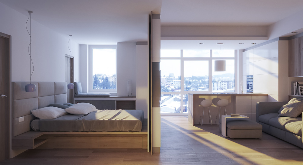 Thiết kế nội thất chung cư mini ảnh 6