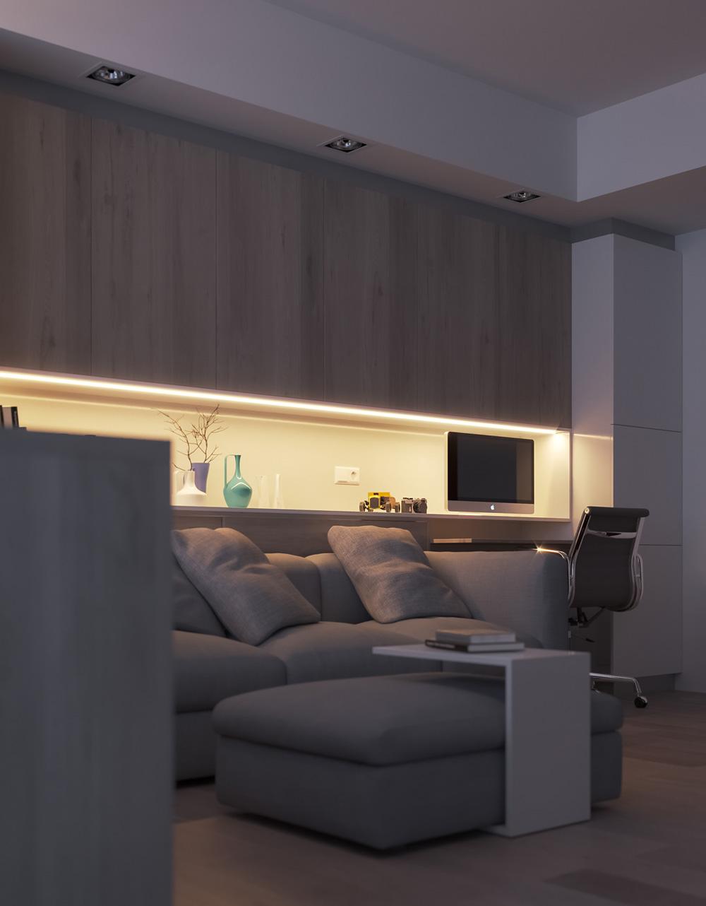 Thiết kế nội thất chung cư mini ảnh 7