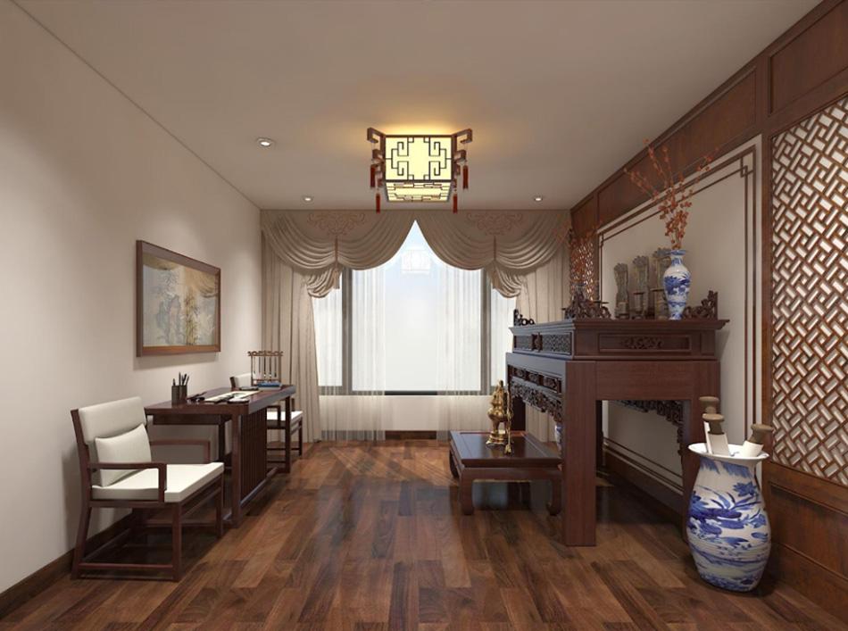Thiết kế nhà phố 3 tầng nội thất gỗ sang trọng ảnh 19