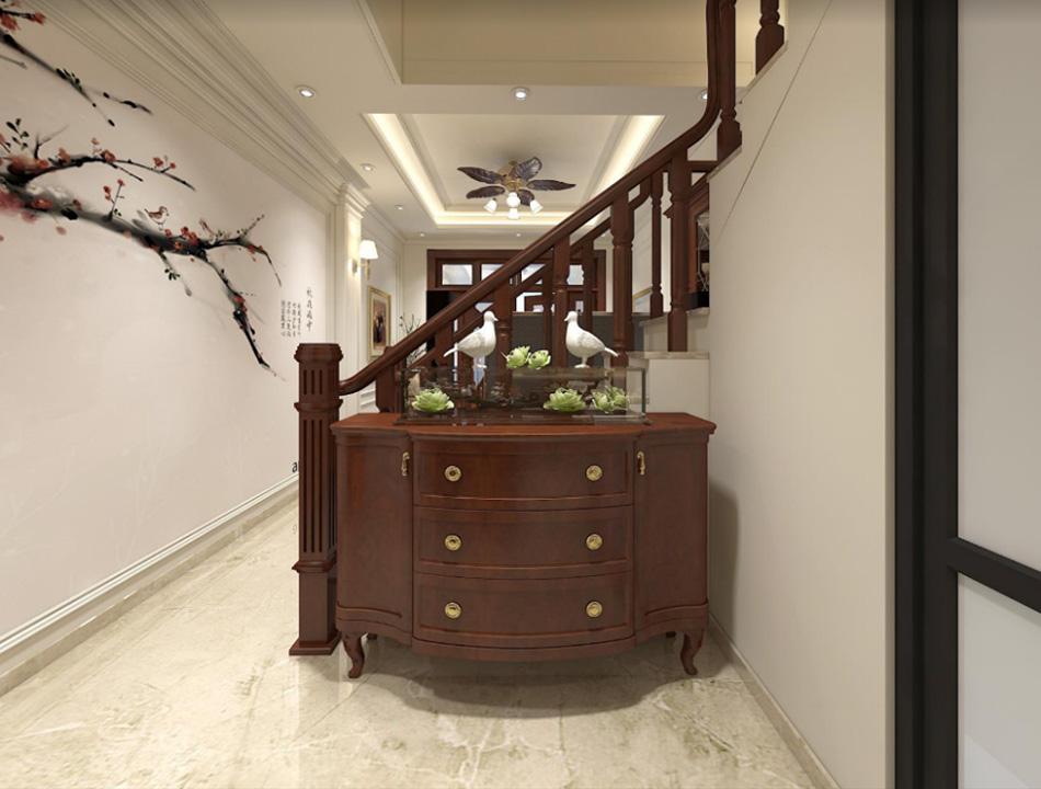 Thiết kế nhà phố 3 tầng nội thất gỗ sang trọng ảnh 4