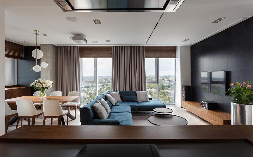 thiết kế nội thất chung cư 110m2 đẹp 11