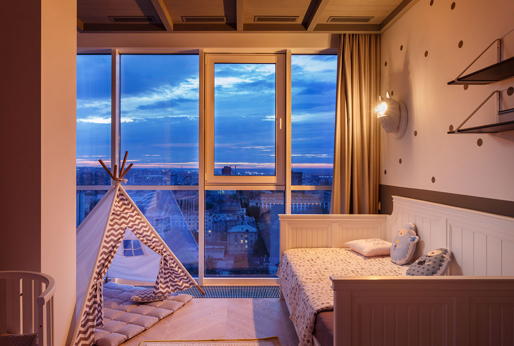 thiết kế nội thất chung cư 110m2 đẹp 14