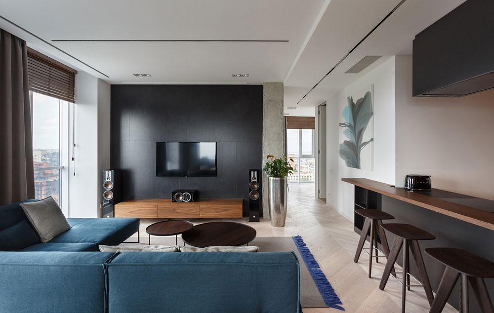 thiết kế nội thất chung cư 110m2 đẹp 15