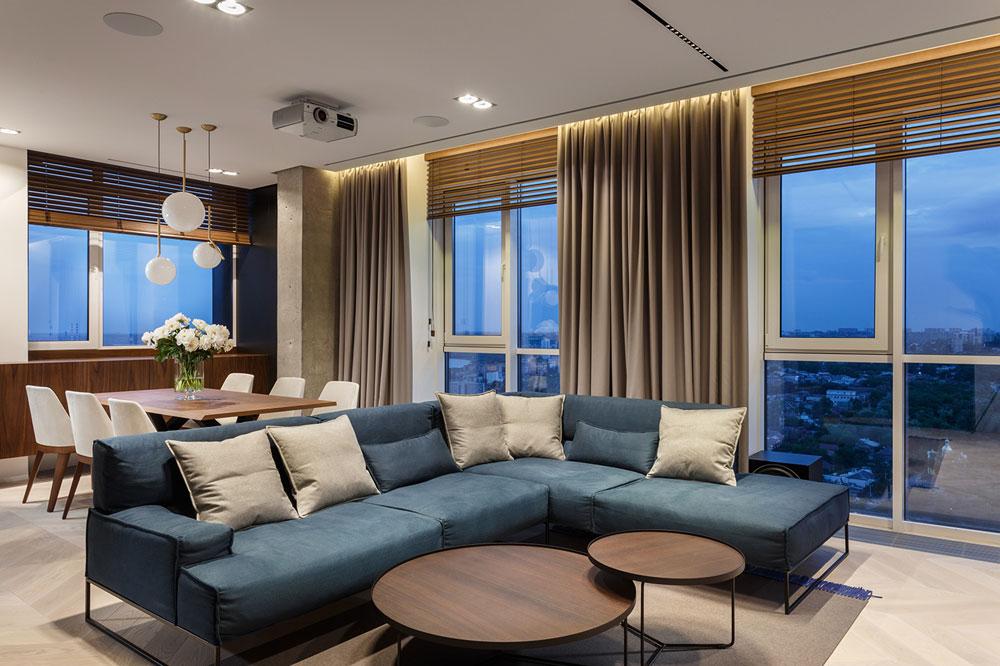 Không thể rời mắt với ý tưởng thiết kế nội thất chung cư 110m2 độc đáo