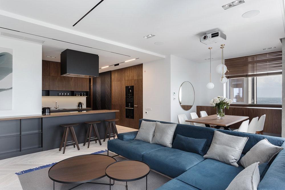 thiết kế nội thất chung cư 110m2 đẹp 22