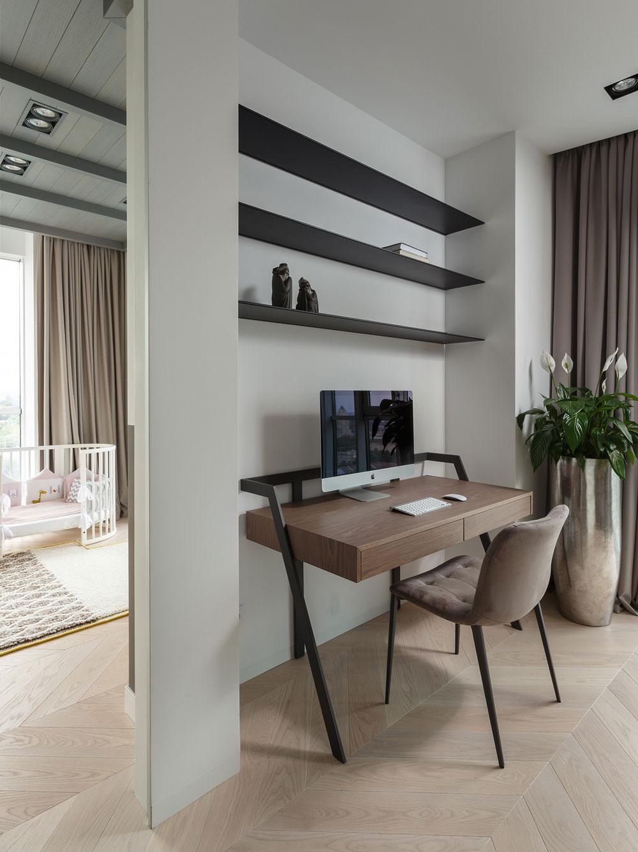 thiết kế nội thất chung cư 110m2 đẹp 6