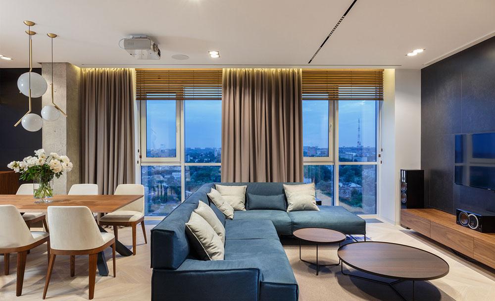 thiết kế nội thất chung cư 110m2 đẹp 7