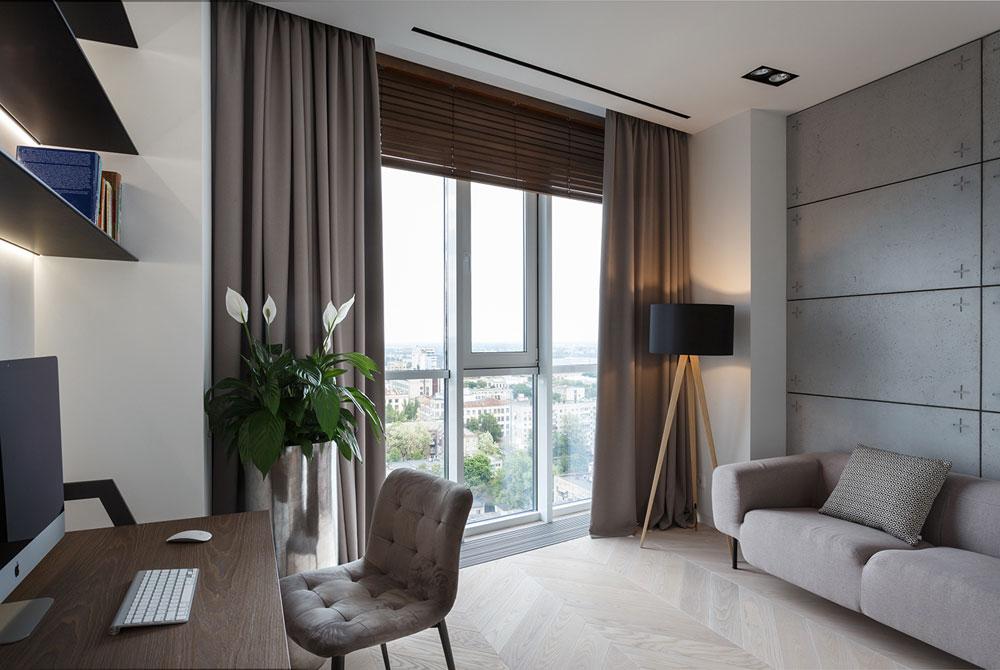 thiết kế nội thất chung cư 110m2 đẹp 8
