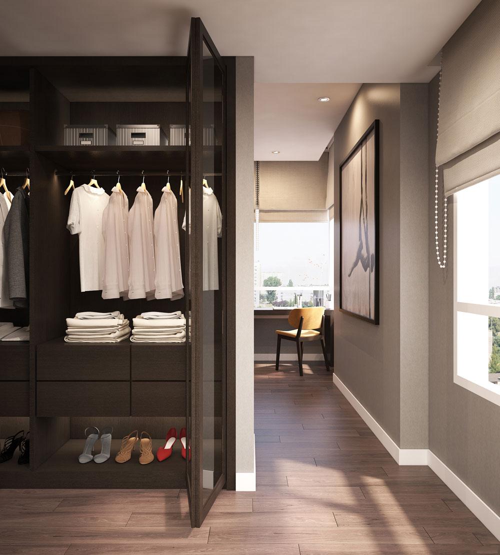 thiết kế nội thất chung cư nhỏ đẹp 1 phòng ngủ ảnh 10