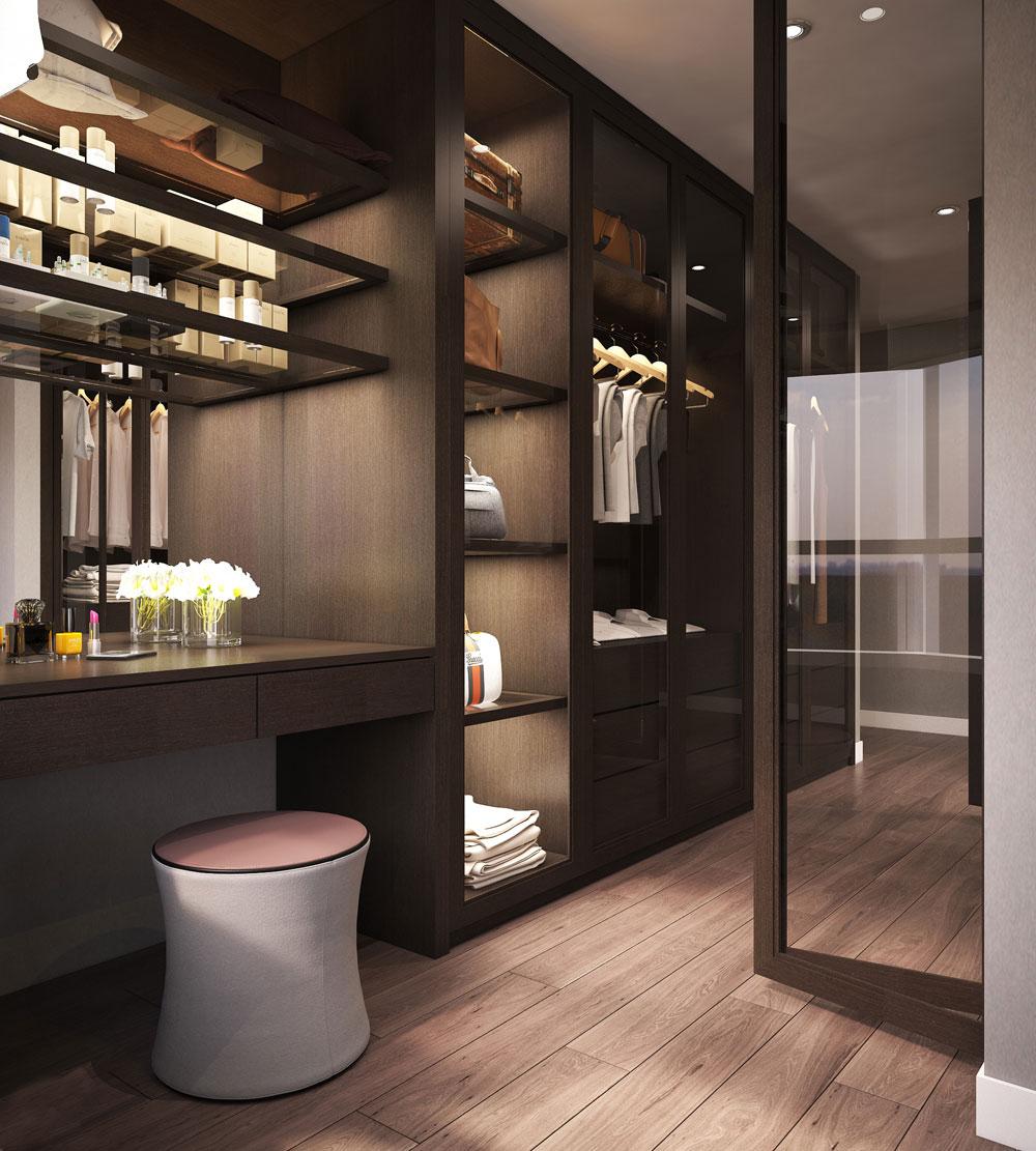 thiết kế nội thất chung cư nhỏ đẹp 1 phòng ngủ ảnh 12