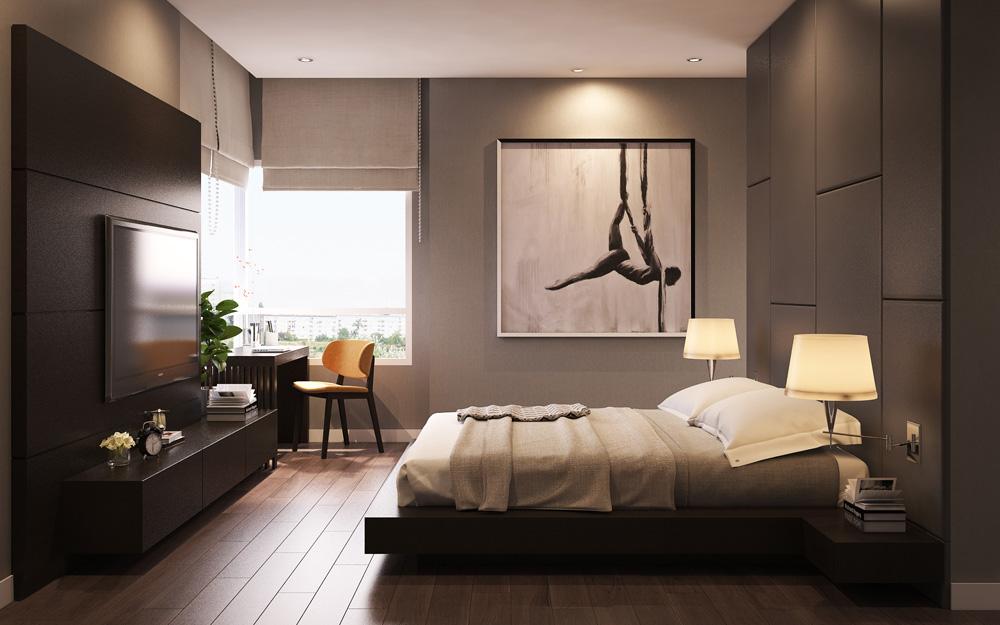 thiết kế nội thất chung cư nhỏ đẹp 1 phòng ngủ ảnh 7