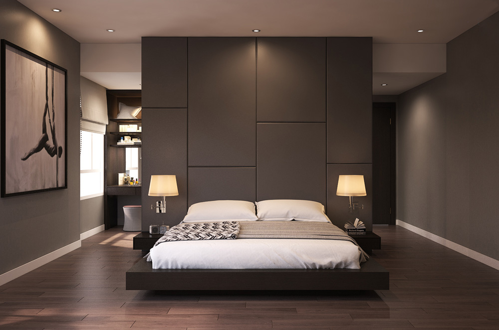 thiết kế nội thất chung cư nhỏ đẹp 1 phòng ngủ ảnh 8