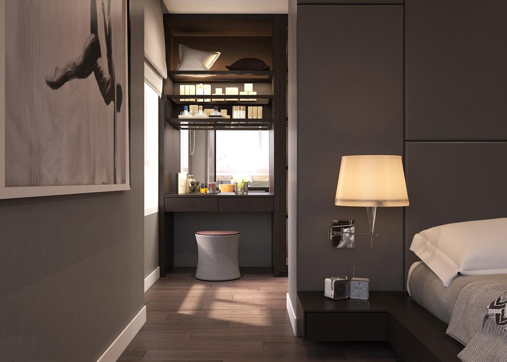thiết kế nội thất chung cư nhỏ đẹp 1 phòng ngủ ảnh 9