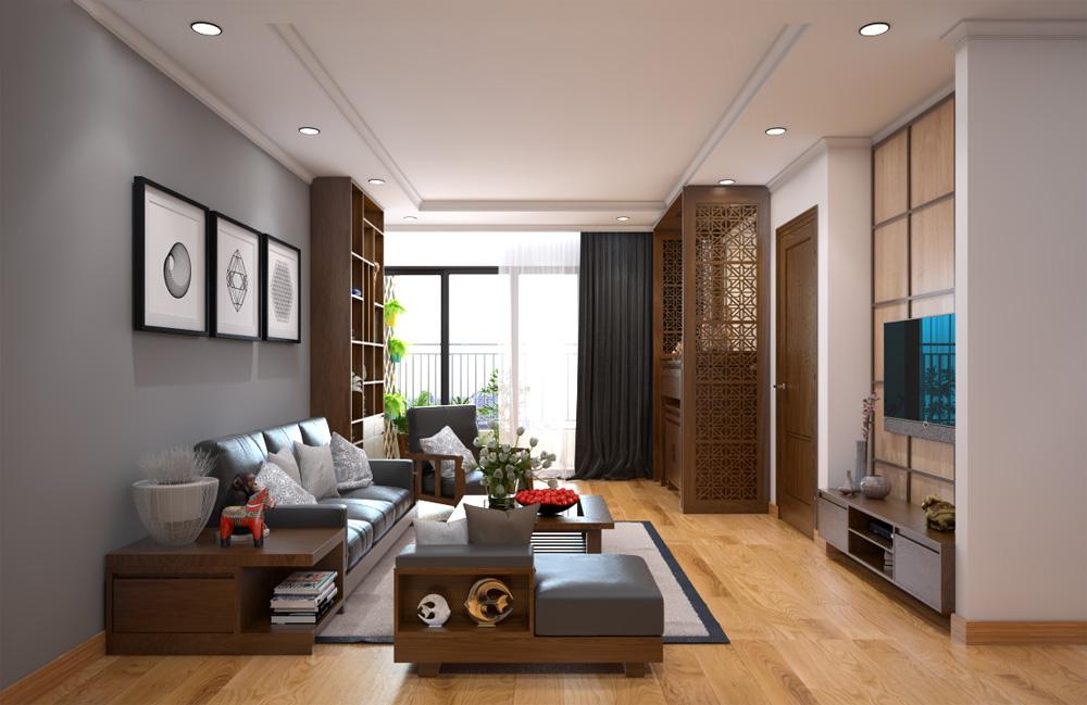 ý tưởng thiết kế nội thất chung cư đẹp ảnh 1