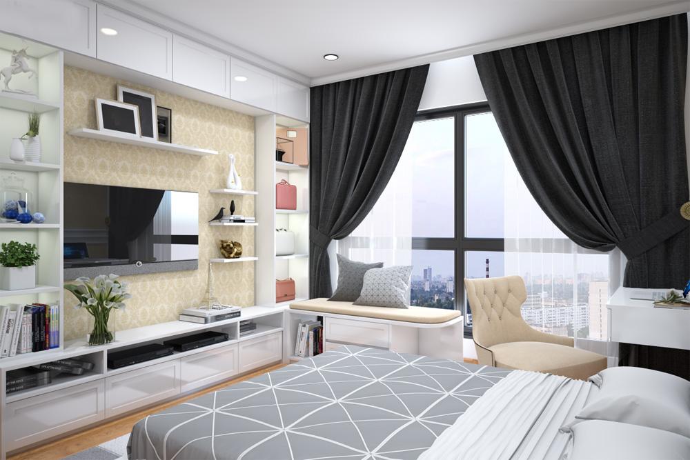 ý tưởng thiết kế nội thất chung cư đẹp ảnh 11