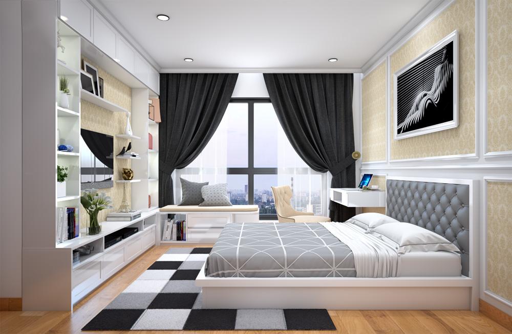 ý tưởng thiết kế nội thất chung cư đẹp ảnh 14