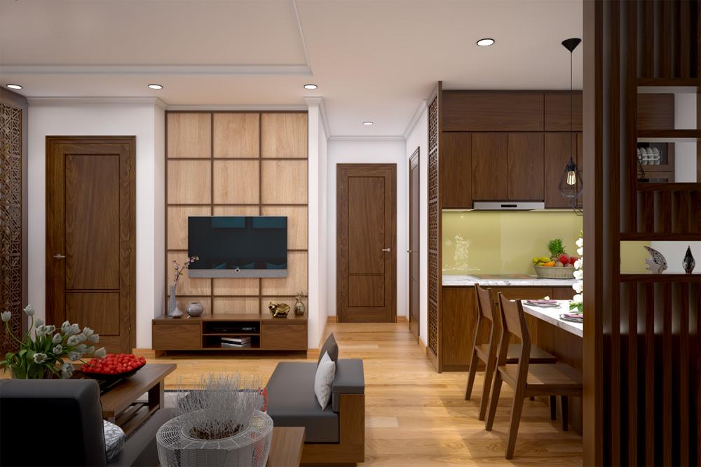 ý tưởng thiết kế nội thất chung cư đẹp ảnh 3