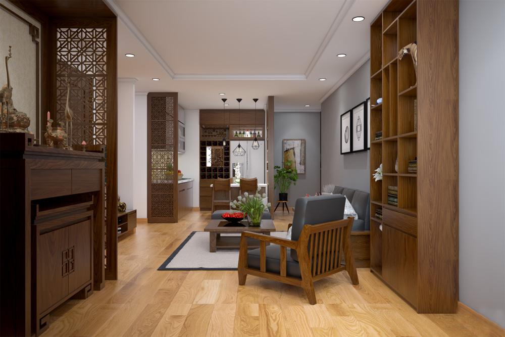 ý tưởng thiết kế nội thất chung cư đẹp ảnh 4