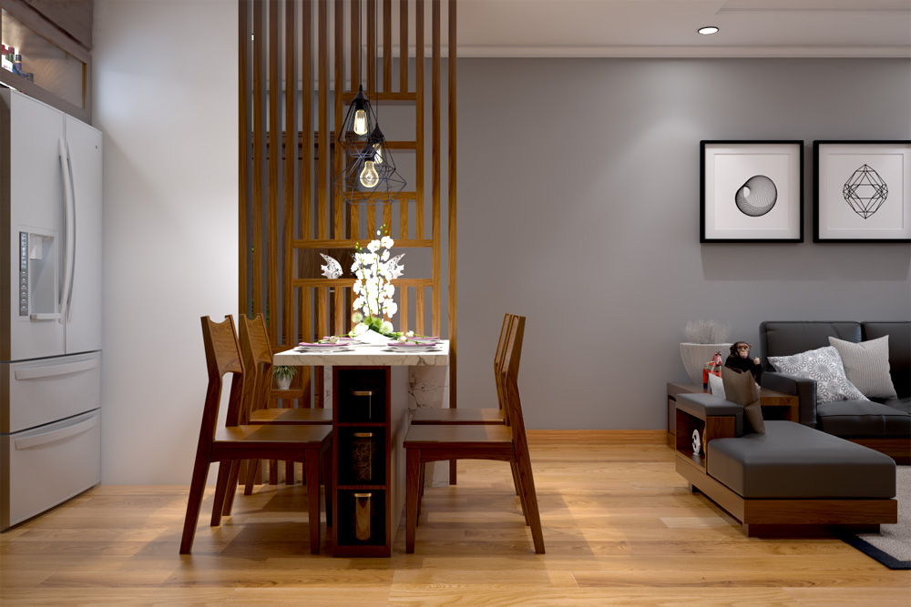 ý tưởng thiết kế nội thất chung cư đẹp ảnh 7