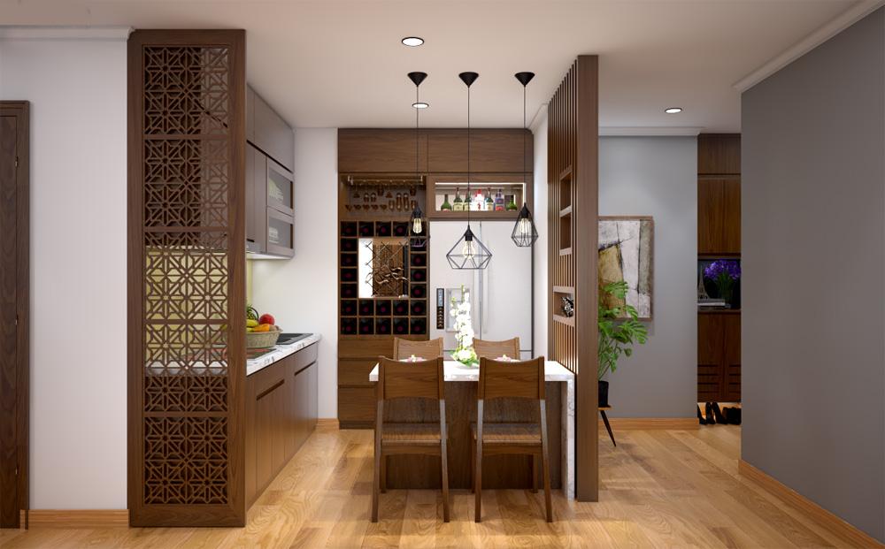 ý tưởng thiết kế nội thất chung cư đẹp ảnh 8